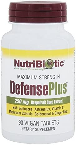 Nutribiotic, Defense Plus, 90 Tablets