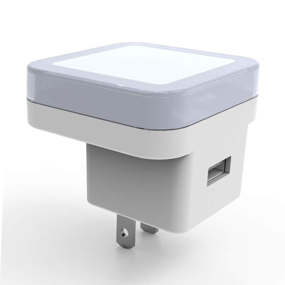 Waynmer WiFi Night Light Hidden Camera, Dimming Light, USB Charger, 720P Cam