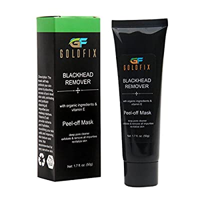Blackhead Remover Mask for Best Effect Facial Cleanser - Peel Off Face Mask having Deep Pore Cleansing Feature by GoldFix Limited