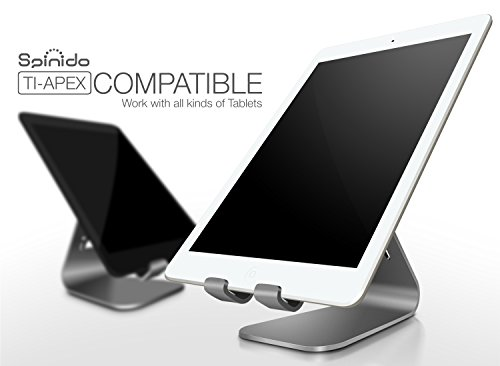 Spinido TI-APEX Series Magnesium-aluminium Alloy Universal Tablet Stand - Space Grey