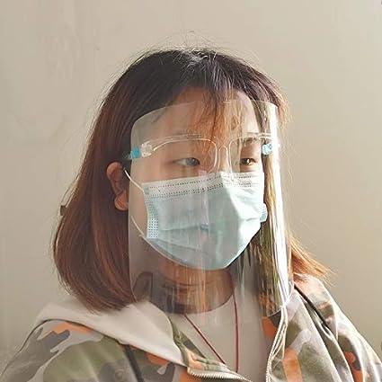 KONGXIPCASE Anti-Humos Mascarilla Transparente for cocinar (Color : Color1)