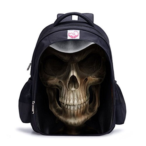 MATMO Halloween Bag Skull Backpack Kids Backpack Bookbag for Boys and Girls [並行輸入品] B078WVFB4G
