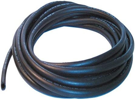 13mm ID Black 20 Metre Length Rubber Air Line Hose AutoSiliconeHoses