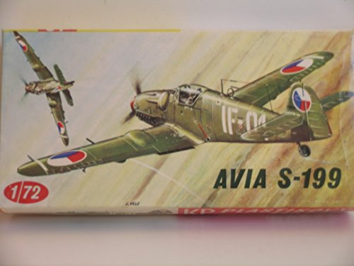kp-models-ww-ii-avia-s-199-aircaft-plastic-model-kit