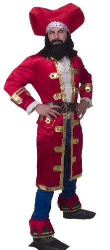 [Captain Morgan Rum Runner Costume Adult X-Large] (Captain Morgan Costume Women)