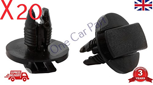 20x Citroen C2 C3 C4 C6 C8 Xsara Wheel Arch Inner Lining Spashguard Trim Clips