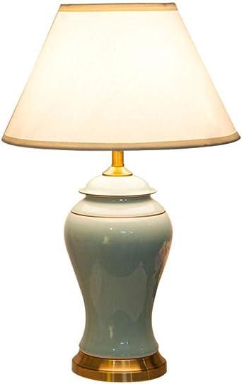 Moderna lámpara de mesa jingdezhen de cerámica, para salón ...