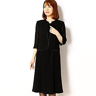 a7bb780e0cd22 ドレスデコ(dress deco) ブラックフォーマル ワンピース 夏用 9号 11号 ...