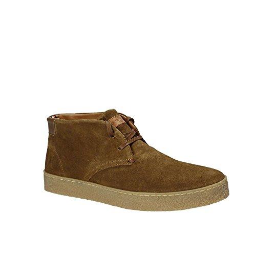 a L2285ogan 2b Alto Marrone Sneaker Hilfiger Uomo Tommy Collo qPw5xfwA