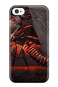 Evil Creature Dragon Fantasy Abstract Fantasy Case Compatible With Iphone 4/4s/ Hot Protection Case