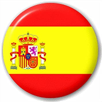 Small 25mm Lapel Pin Button Badge Novelty Spain - Spanish Flag ...