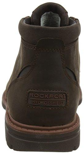 Uomo Marrone Bucks Stivali Dark Rockport Brown Chukka Rockport Tough Tough nAtw0UYqU