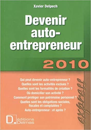 Devenir Auto Entrepreneur French Edition 9782247083985 Amazon