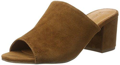 Marron 49221 light Bianco Brown Femme 20 Sandal Suede Mule x6wwOqRUY
