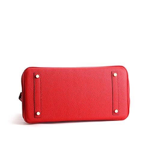 portés Sac Rouge LF Valin M149 main femme fashion en main Sac cuir à Z6Txaqv