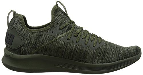 Night forest Puma Para Ignite Evoknit Flash Black Hombre De castor Verde Gray Zapatillas Running puma ZavxRZf