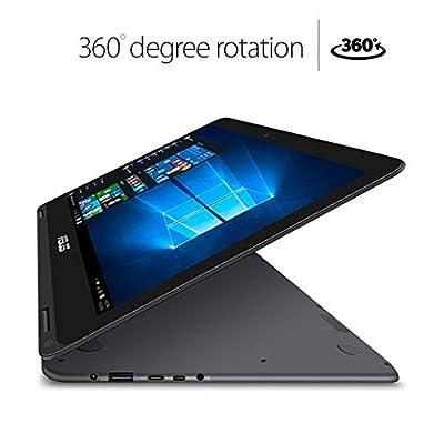 ASUS ZenBook Flip UX360CA-DBM2T 13.3 - inch Touchscreen Laptop (Intel Core M CPU,8 GB RAM,512 GB Solid State Drive,Windows 10)