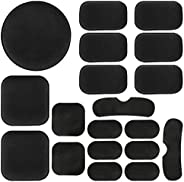 Aoutacc Universal Airsoft Helmet Pads, Helmet Replacement Foam Padding Kits Set Accessories Mats for Fast/Mich