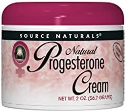 Source Naturals Progesterone Cream - Women's Health Support - High Purity, Paraben Free - 2 Ounces