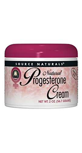 (Source Naturals Progesterone Cream - Women's Health Support - High Purity, Paraben Free - 2 Ounces )