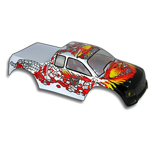 UPC 609132464577, Redcat Racing Truck Body (1/10 Scale), Silver/Red