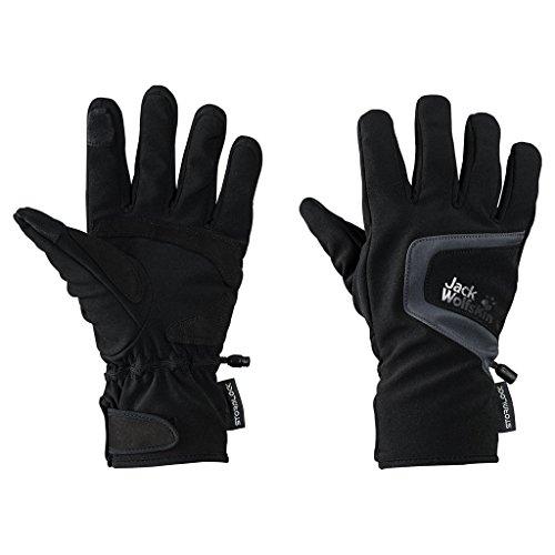 Jack Wolfskin Storm Lock Touch Gloves, X-Large, Black