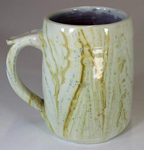 Yellow Marbled Earthenware ()