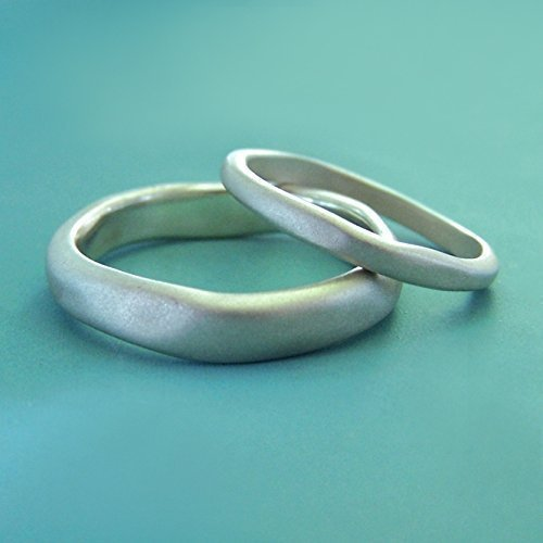 River Wedding Ring - Matte Finished Recycled Sterling Silver - Choose a Width