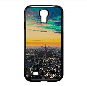 Paris Cityscape Watercolor style Cover Samsung Galaxy S4 I9500 Case (France Watercolor style Cover Samsung Galaxy S4 I9500 Case)