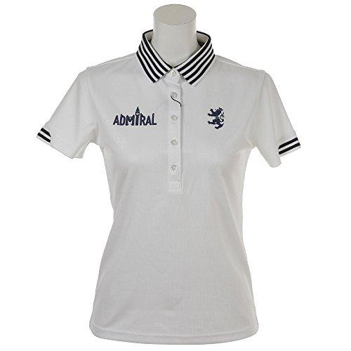 アドミラル Admiral 半袖シャツ?ポロシャツ UJエンボス 半袖ポロシャツ レディス