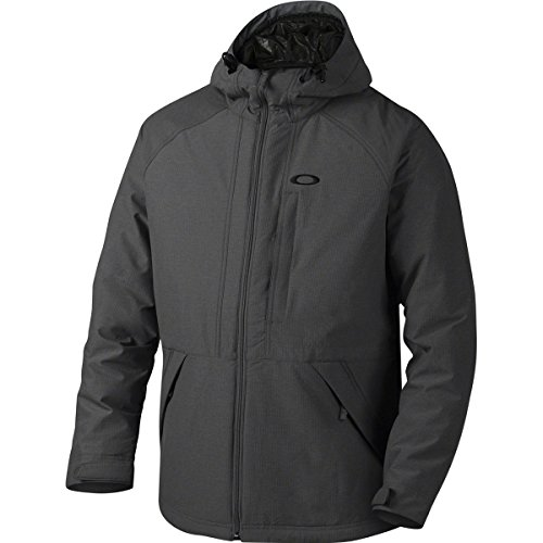 (Oakley Men's Sidewinder 3-in-1 Jacket, Large, Forged Iron)