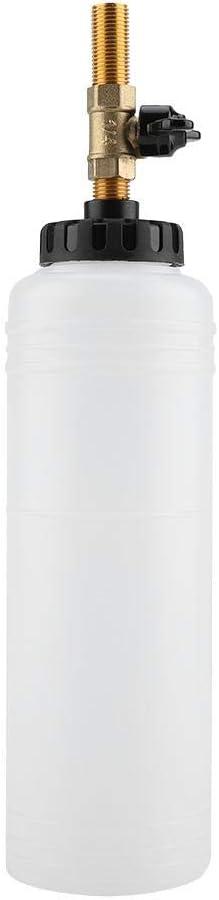 Qiilu Car Brake Bleeder,Bleeding Fluid Change Kit Air Pneumatic Garage Vacuum Tool Set 90-120PSI