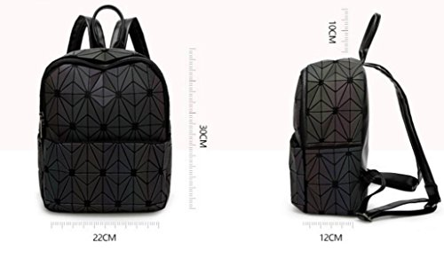 FZHLY Travel Bag Nuovo Lingge Borsa A Tracolla Di Pelle Morbida Notte Light Gradient