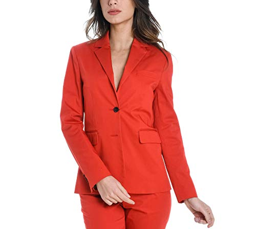 ETRO Women's 146961582600 Red Cotton Blazer