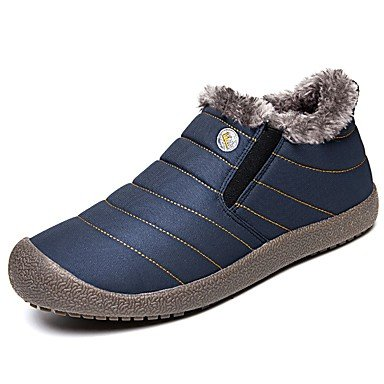 Black Casual Dark blue Leatherette Flat Zipper Boots Fall Comfort Women's Blue Gll dark amp;xuezi Spring Flat Heel qWYUaO0PP