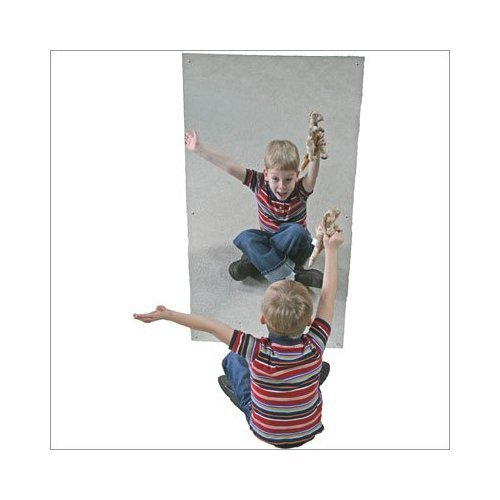 Acrylic Wall Mirror Size 24 X 48 by Other Brands