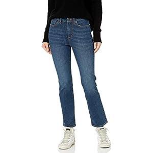 Women's High-Rise Slim Straight Jeans