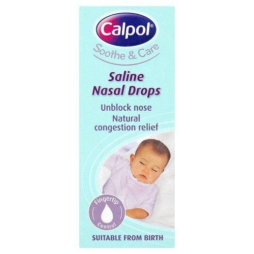 Calpol Soothe and Care 10ml Saline Drop Johnson & Johnson 106365411