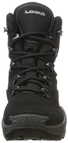 Lowa Rufus III GTX Hi, Zapatillas de Senderismo Unisex Niños Negro (Schwarz/grau_black/grey)