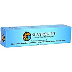Silverquine Animal Wound Dressing Gel, 1.5 oz Tube