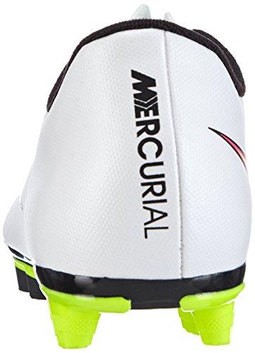 NIKE Mercurial Vortex II FG cam scarpa da calcio 651647-170 bianco, Bianco, 42
