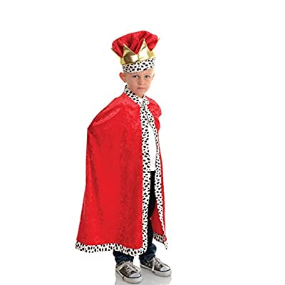 Little Boy's King Cape Costume: Clothing