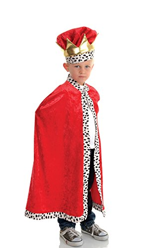 Little Boy's King Cape Costume