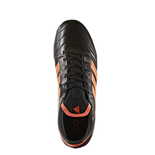 Adidas Mannen Copa 17.1 Fg Soccer Cleat (zwart, Zonne-rood) Zwart, Zonne-rood, Zonne-rood