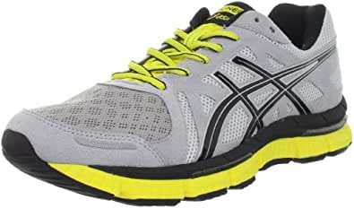 ASICS Men's GEL-Neo33 Running Shoe,Platinum/Black/Yellow,8 M US
