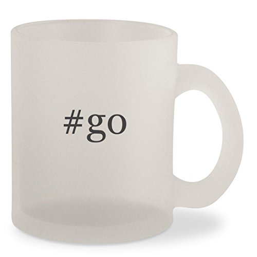 Price comparison product image #go - Hashtag Frosted 10oz Glass Coffee Cup Mug