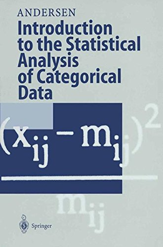 Introduction to the Statistical Analysis of Categorical Data