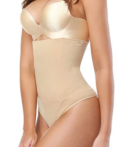 SEXYWG Women Waist Cincher Thong Panty Body Tummy Control Slimmer Shapewear