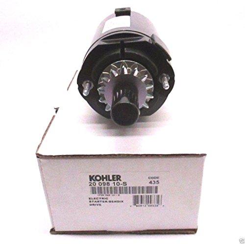 - Kohler 20-098-10-S Lawn & Garden Equipment Engine Electric Starter Genuine Original Equipment Manufacturer (OEM) Part