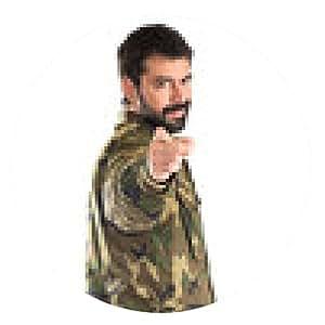 alfombrilla de ratón Soldado que apunta hacia el frente - ronda - 20cm